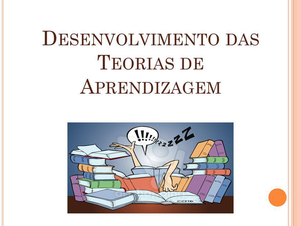 Desenvolvimento das Teorias de Aprendizagem