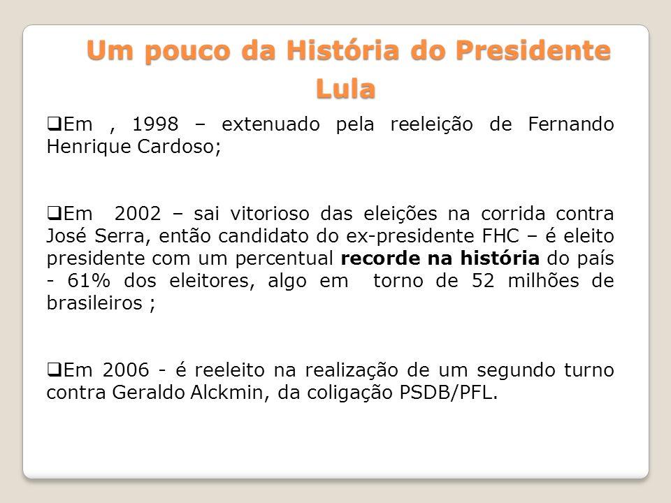 Um pouco da História do Presidente Lula
