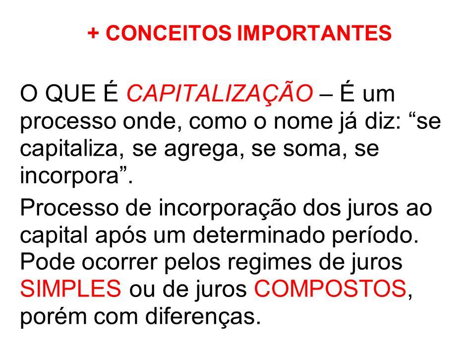 + CONCEITOS IMPORTANTES