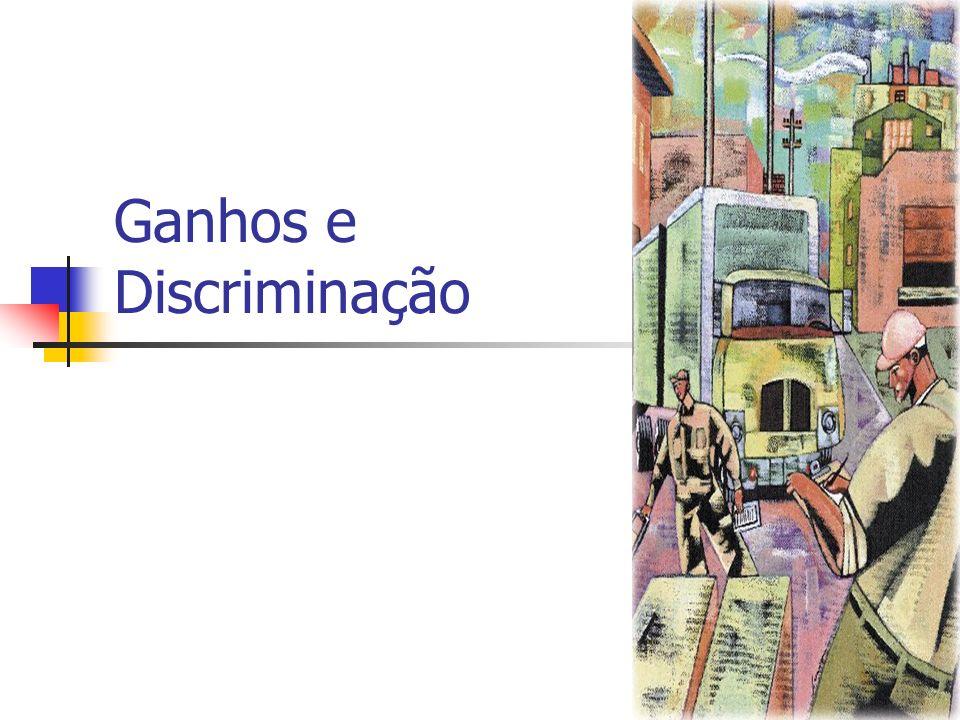 Ganhos e Discriminação