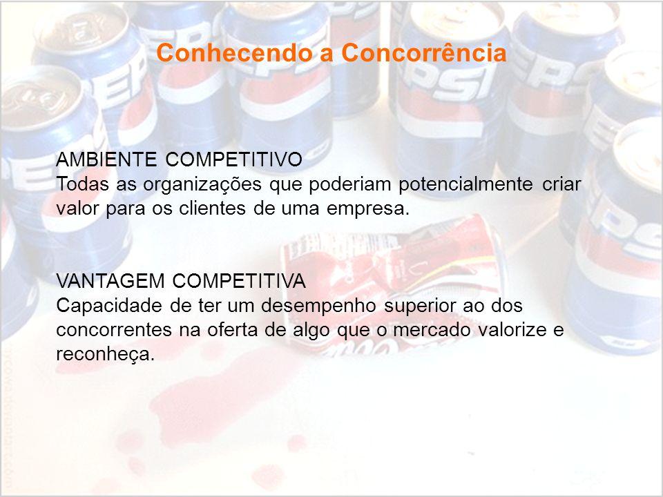 Conhecendo a Concorrência