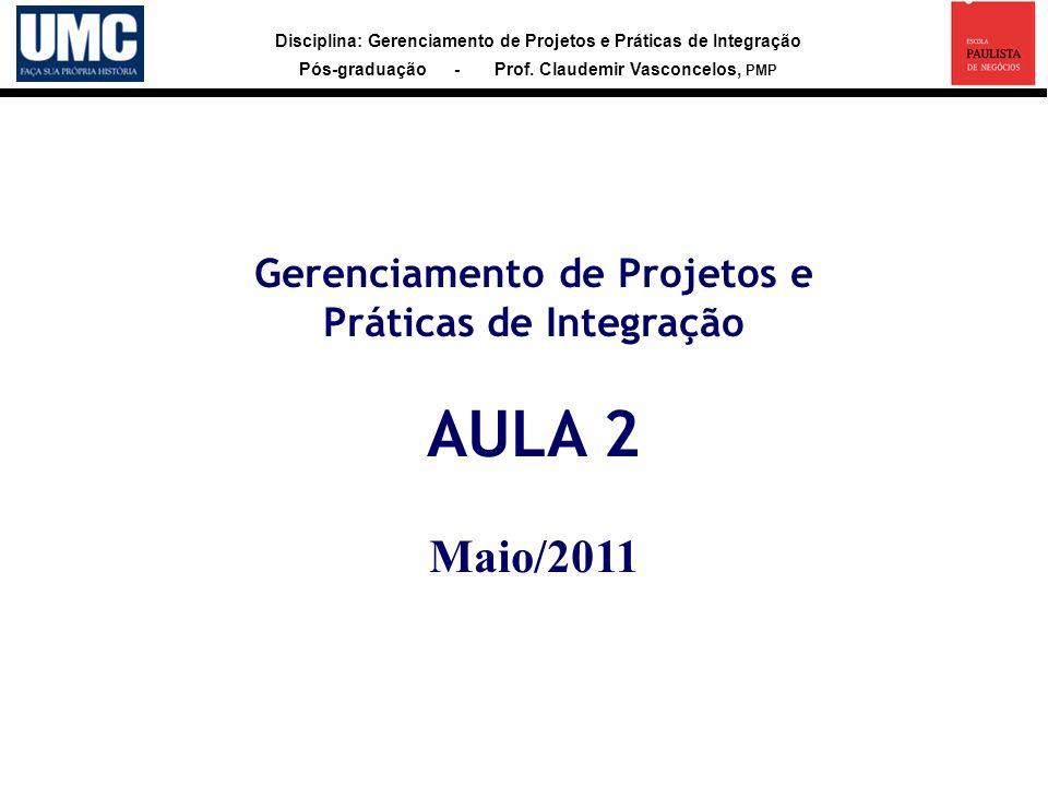 Gerenciamento de Projetos e
