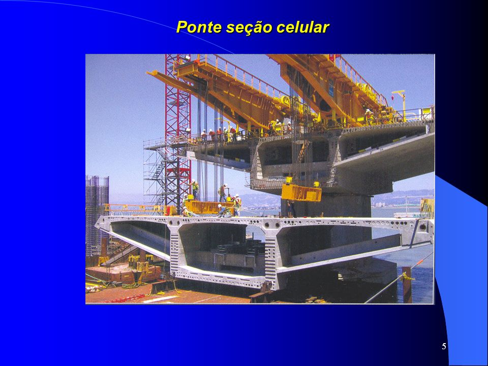 Ponte seção celular