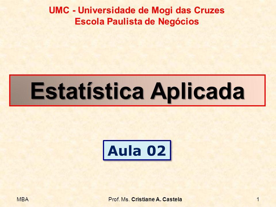 Estatística Aplicada Aula 02