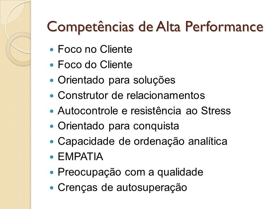 Competências de Alta Performance