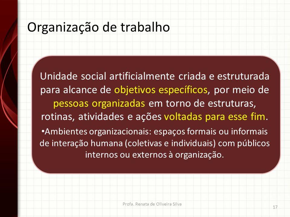 Organização de trabalho