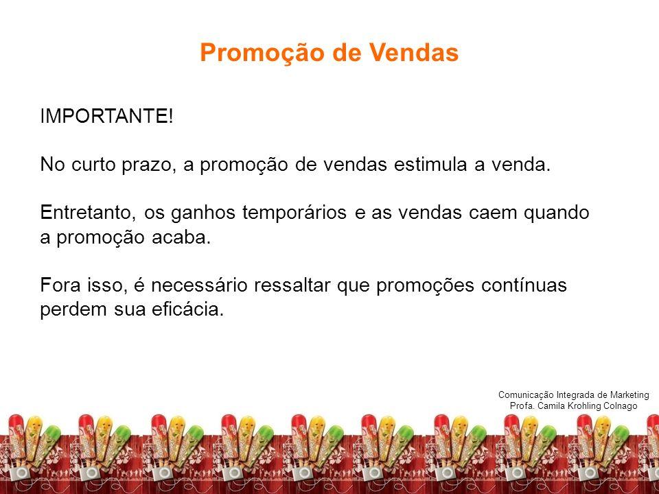 Promoção de Vendas IMPORTANTE!