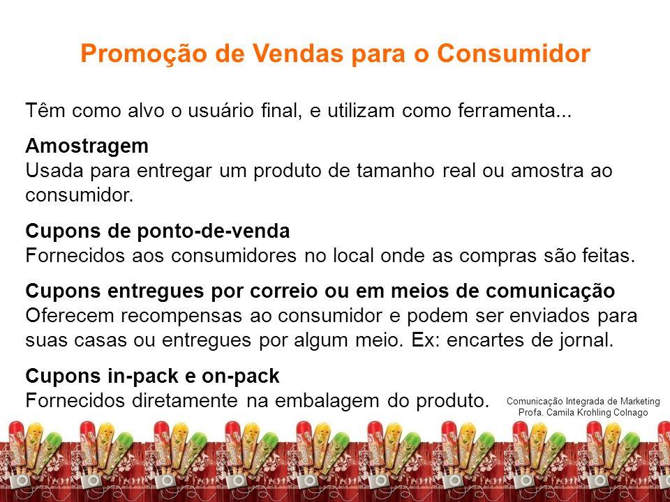 Promoção de Vendas para o Consumidor