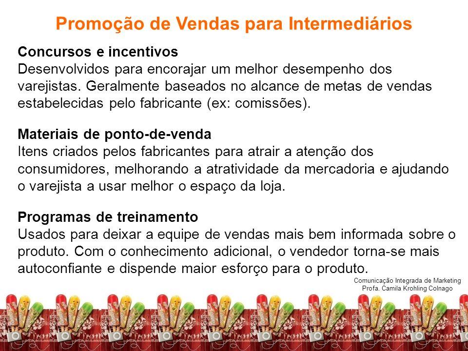 Promoção de Vendas para Intermediários