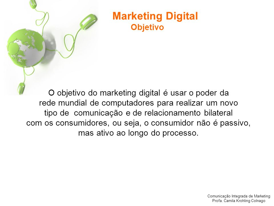 Marketing Digital Objetivo