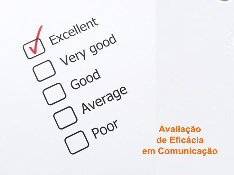 Avaliação de Eficácia em Comunicação