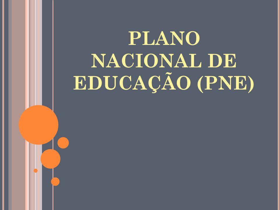 PLANO NACIONAL DE EDUCAÇÃO (PNE)