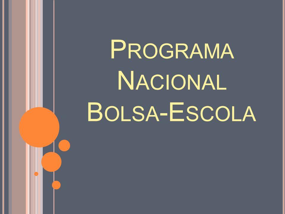 Programa Nacional Bolsa-Escola