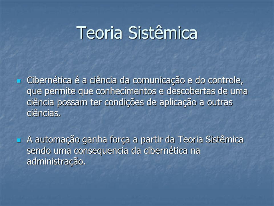 Teoria Sistêmica