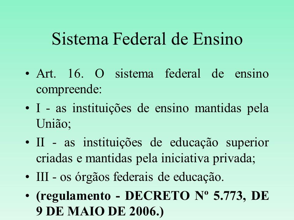 Sistema Federal de Ensino