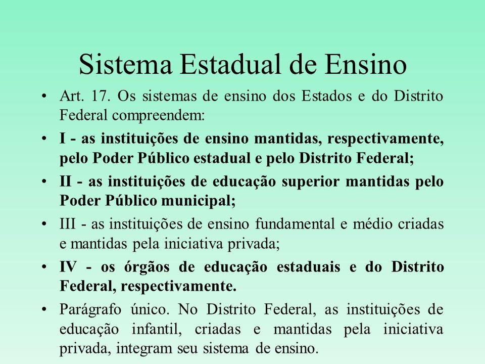 Sistema Estadual de Ensino