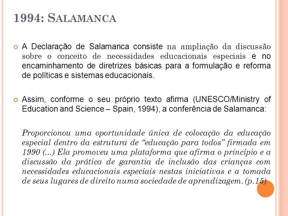 1994: Salamanca
