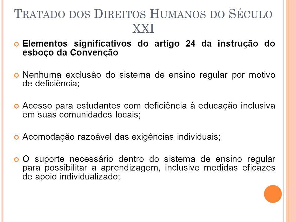 Tratado dos Direitos Humanos do Século XXI