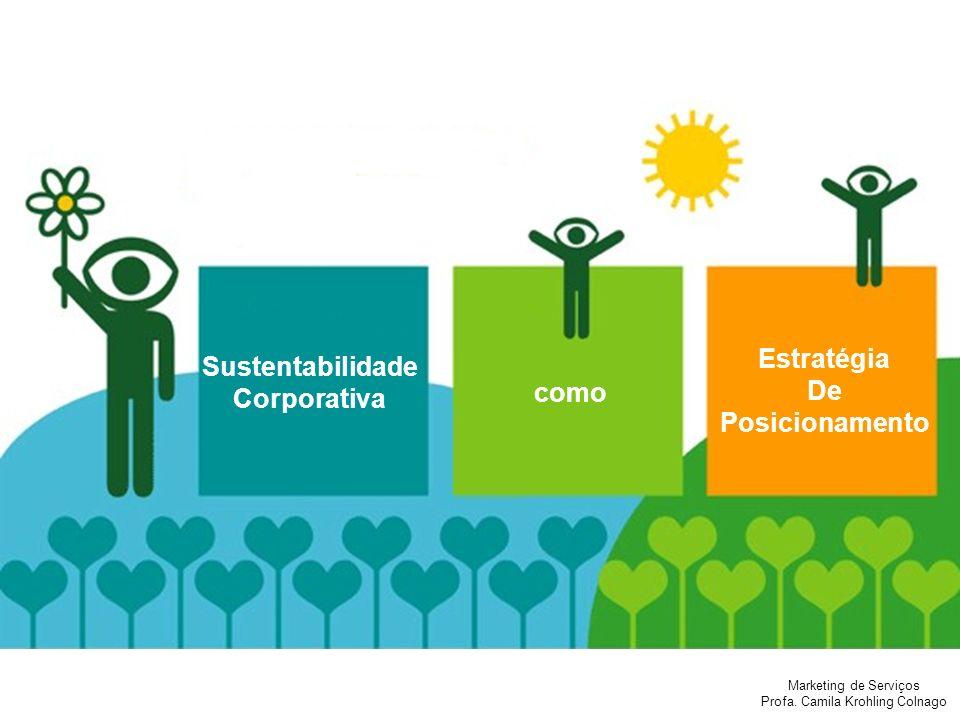 Estratégia De Posicionamento Sustentabilidade Corporativa como
