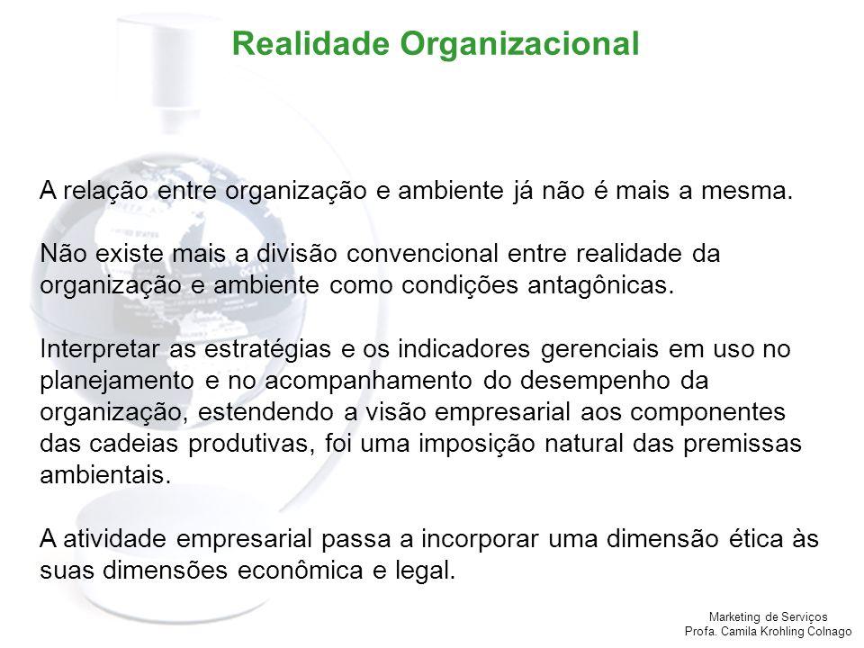 Realidade Organizacional