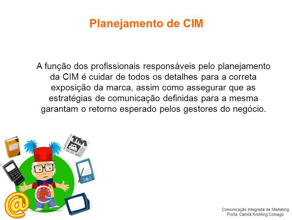 Planejamento de CIM