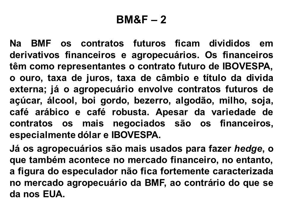 BM&F – 2