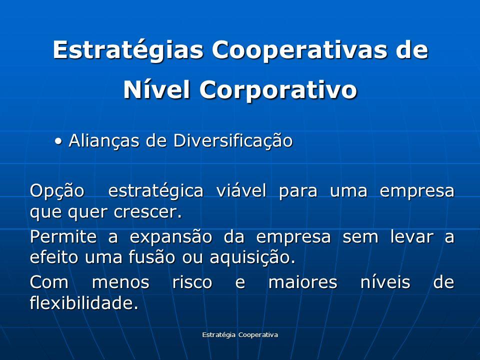 Estratégias Cooperativas de Nível Corporativo