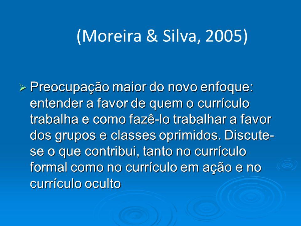 (Moreira & Silva, 2005)