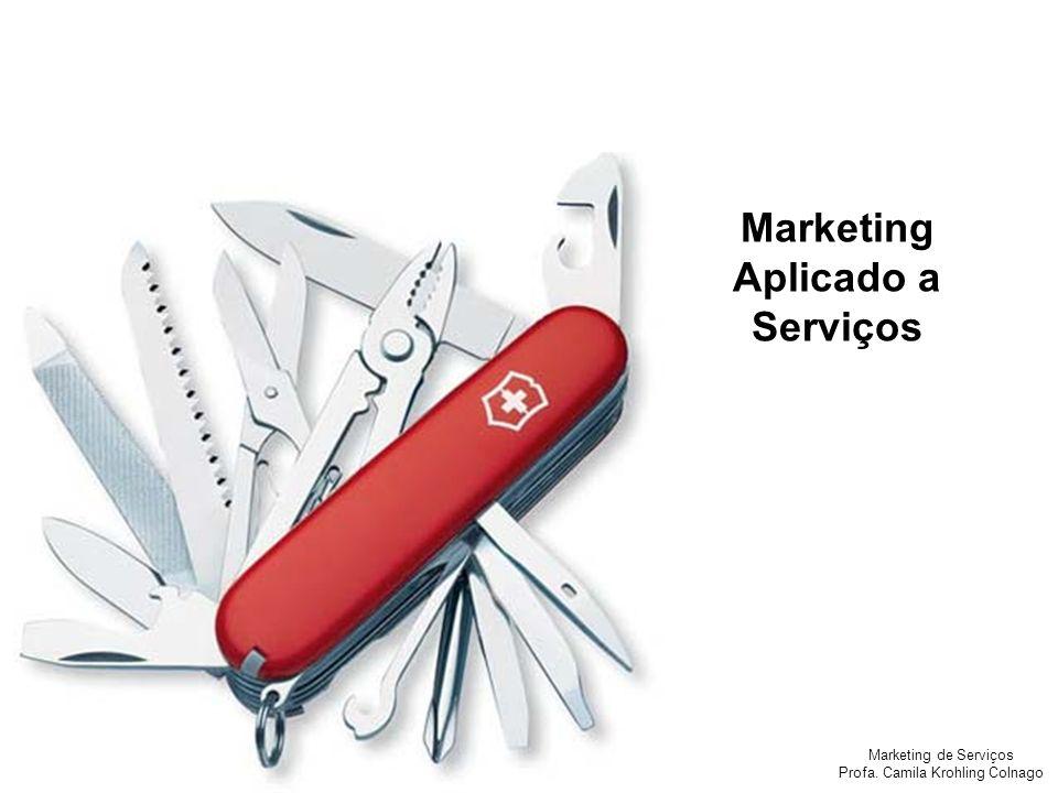 Marketing Aplicado a Serviços