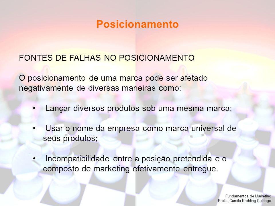 Posicionamento FONTES DE FALHAS NO POSICIONAMENTO