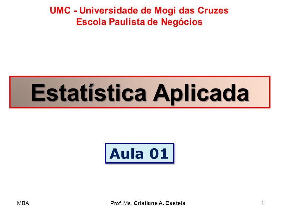 Estatística Aplicada Aula 01