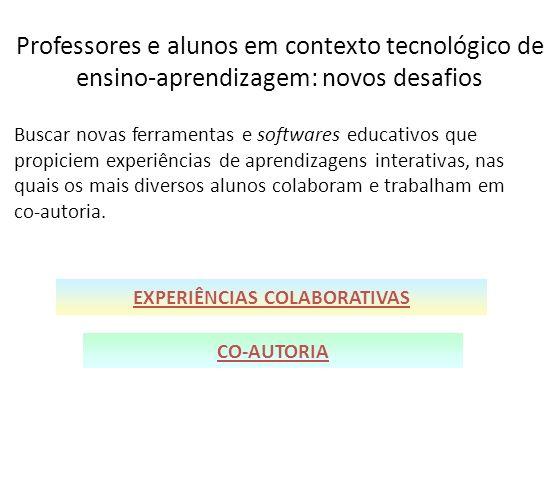 EXPERIÊNCIAS COLABORATIVAS