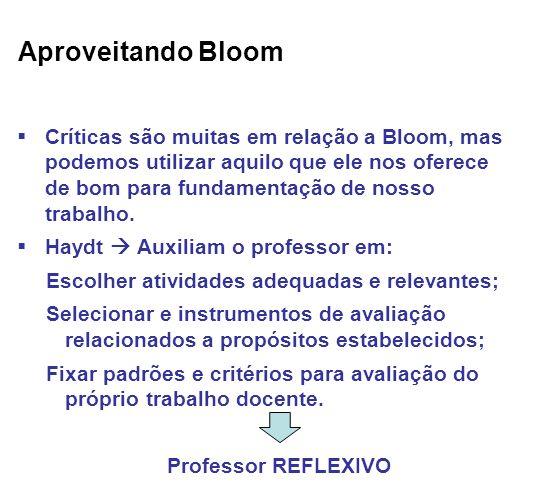 Aproveitando Bloom