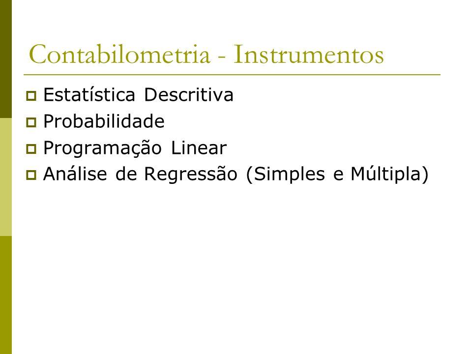 Contabilometria - Instrumentos
