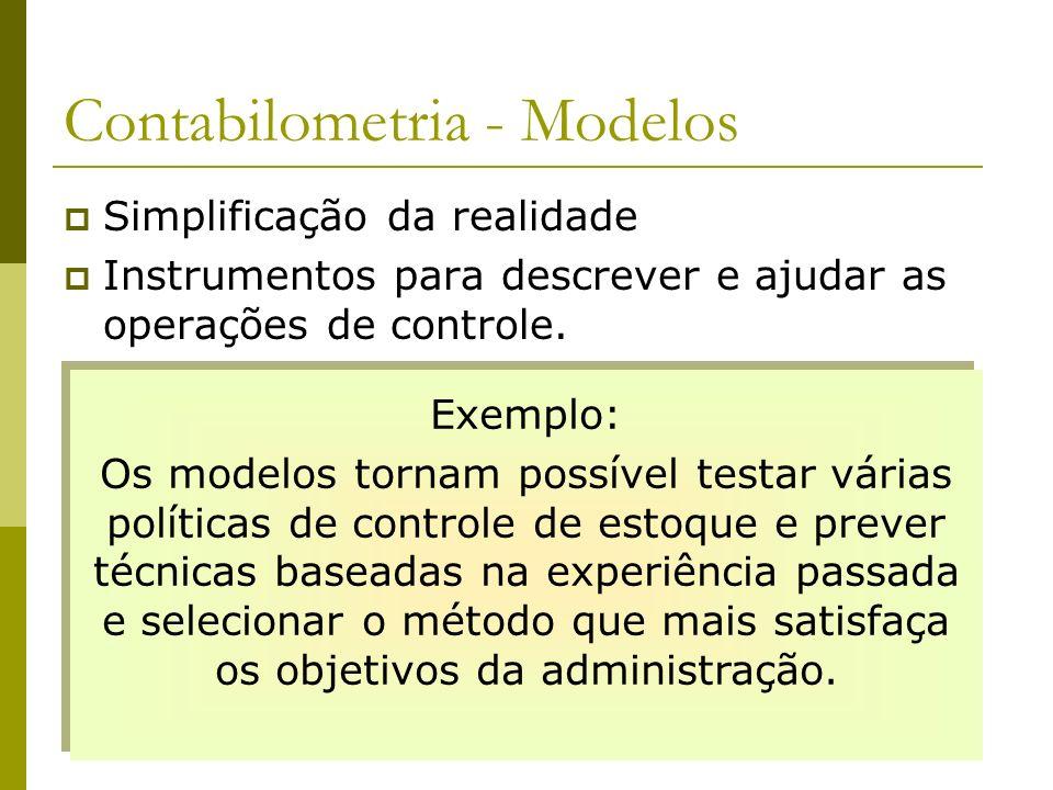 Contabilometria - Modelos