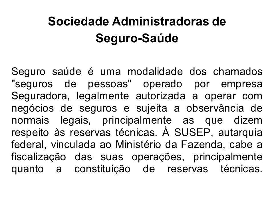 Sociedade Administradoras de