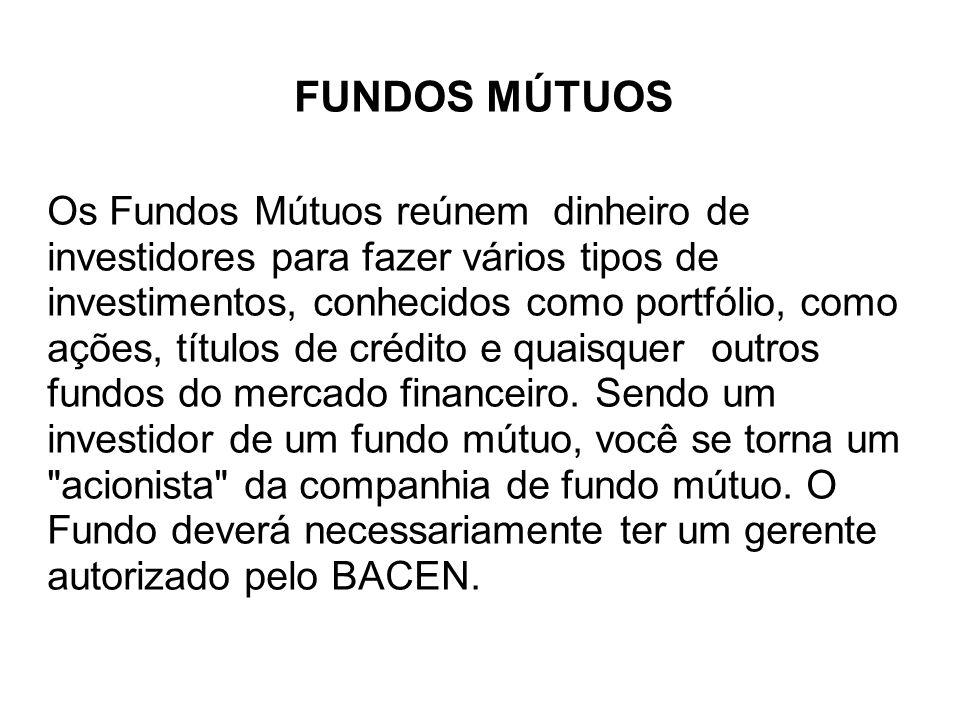 FUNDOS MÚTUOS