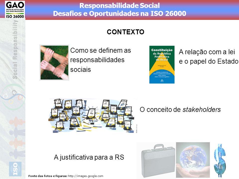Como se definem as responsabilidades sociais