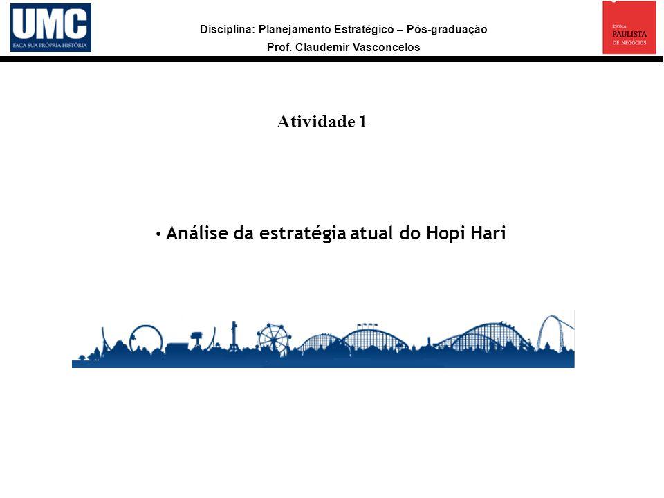 Atividade 1 a Análise da estratégia atual do Hopi Hari 9