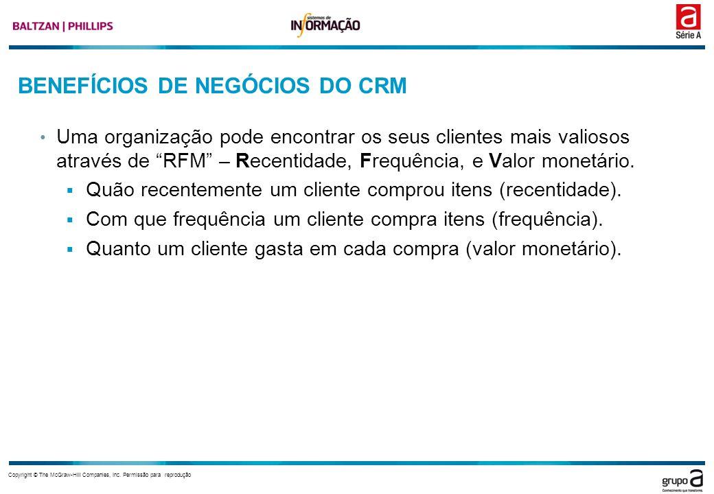 BENEFÍCIOS DE NEGÓCIOS DO CRM