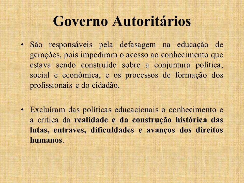Governo Autoritários