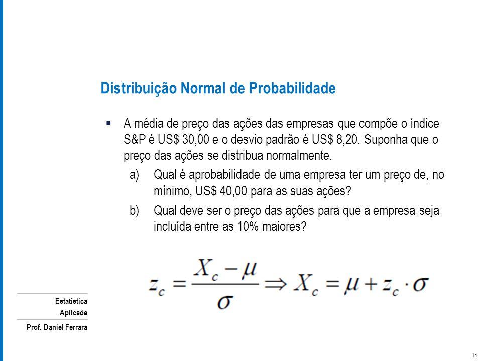Distribuição Normal de Probabilidade