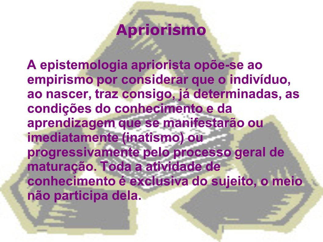Apriorismo