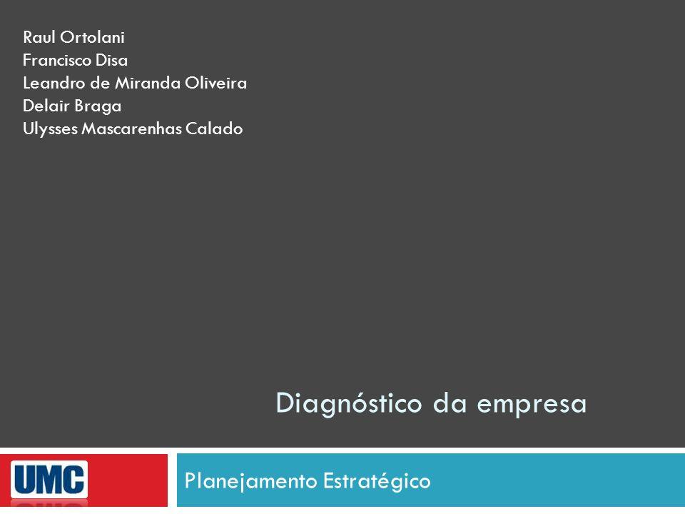 Diagnóstico da empresa