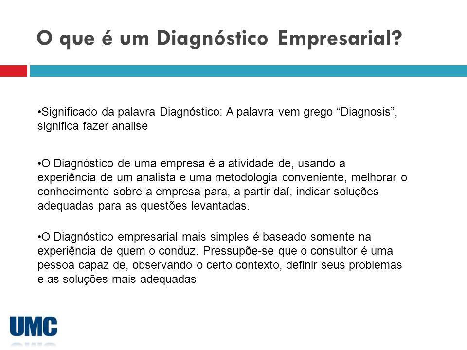 O que é um Diagnóstico Empresarial