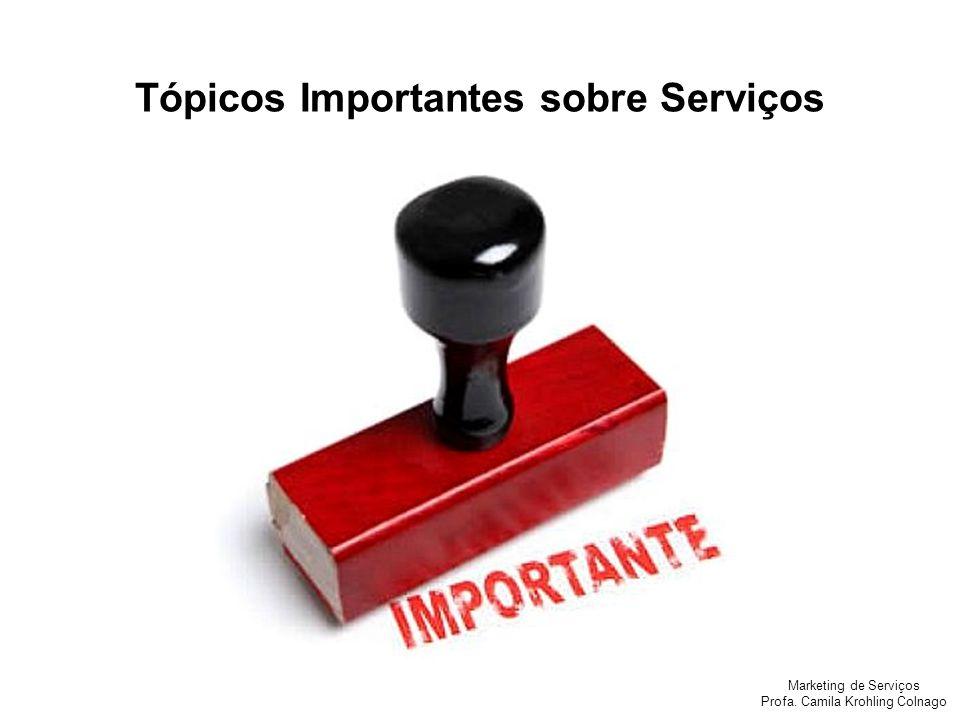 Tópicos Importantes sobre Serviços
