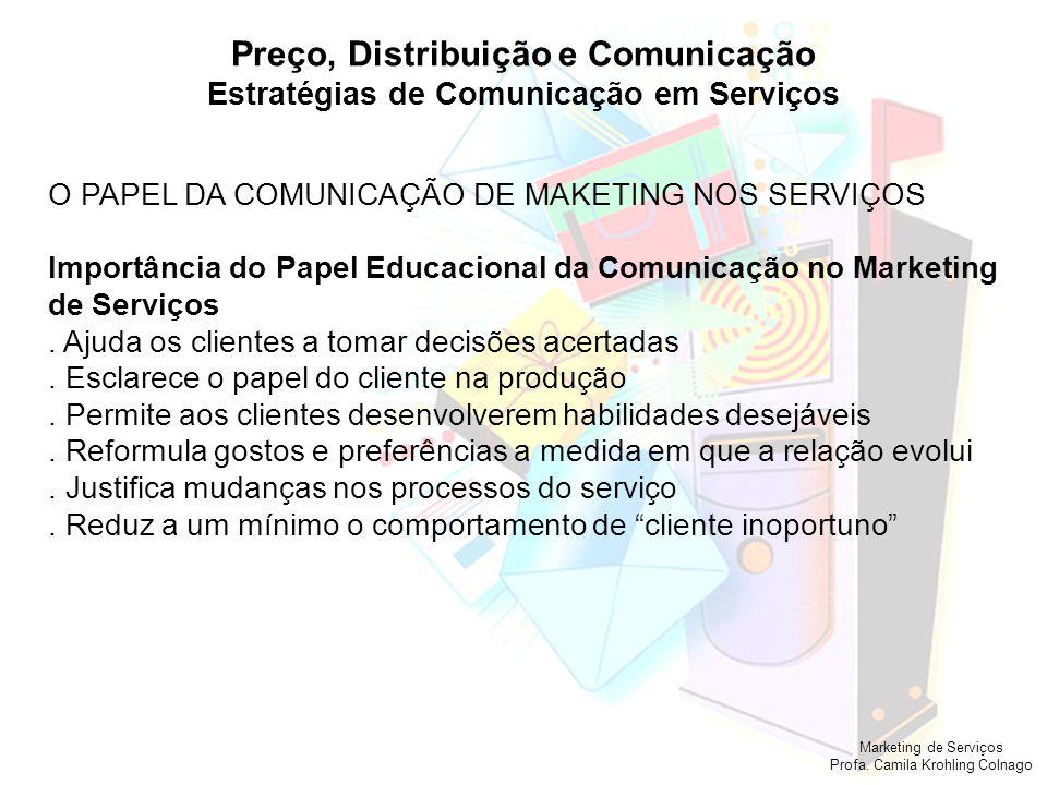 Preço, Distribuição e Comunicação