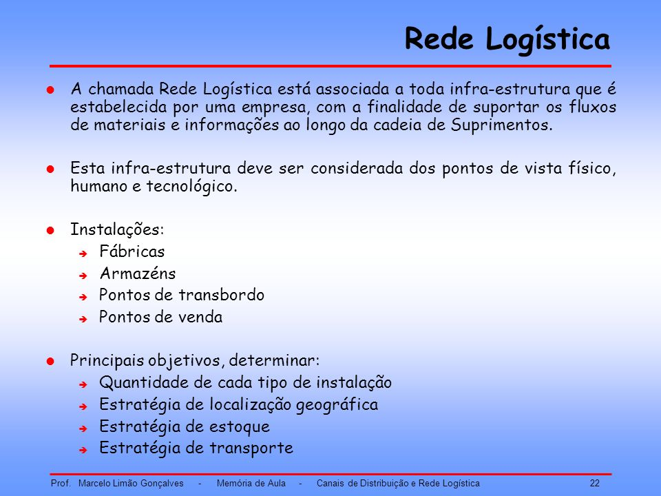 Rede Logística