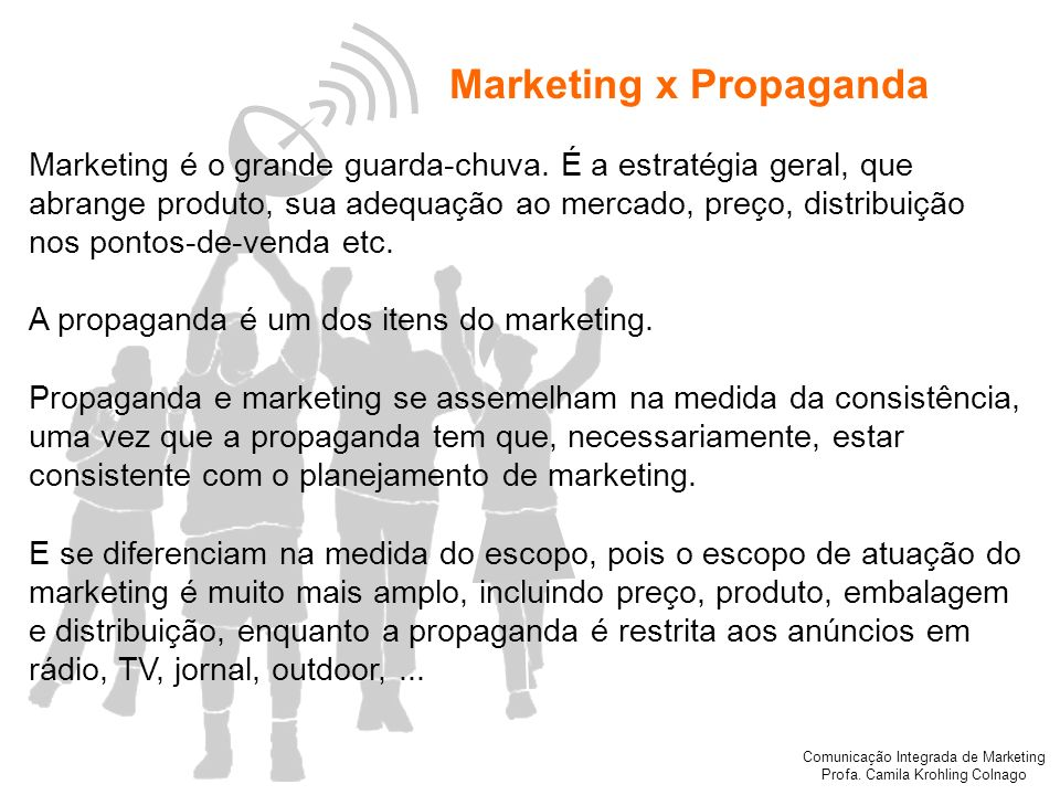 Marketing x Propaganda