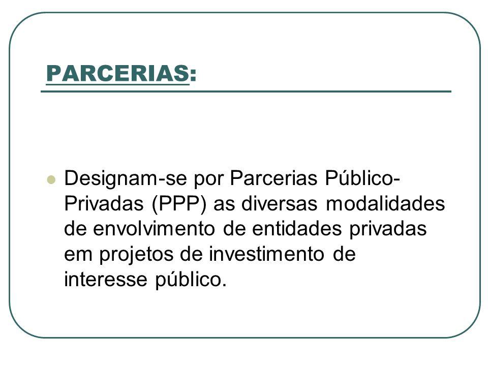 PARCERIAS: